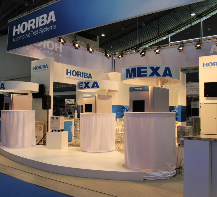 Messestand Horiba 2012