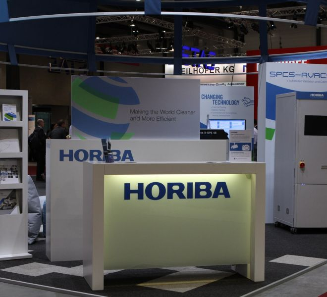 welcome desk and general booth